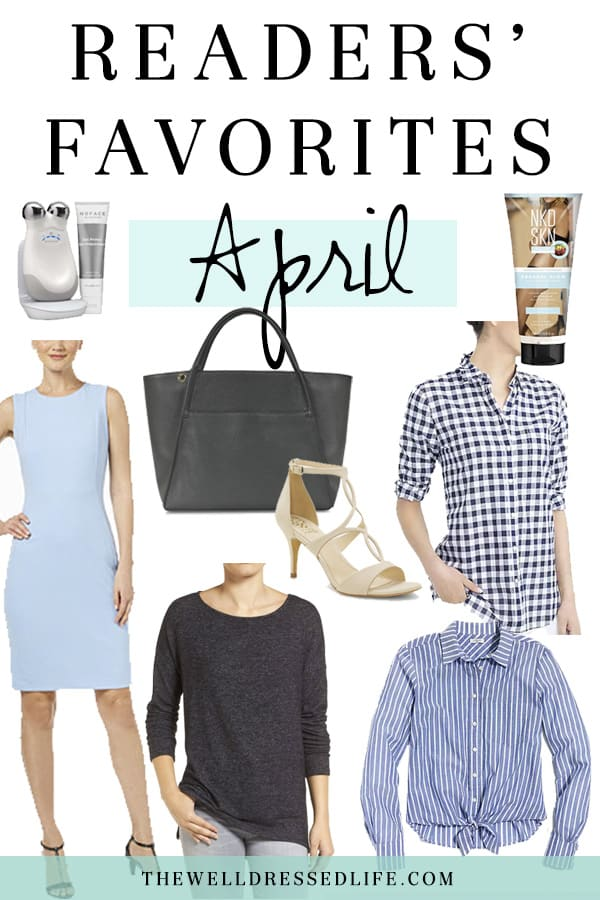 Readers' Favs - April 2018 - The Well Dressed Life