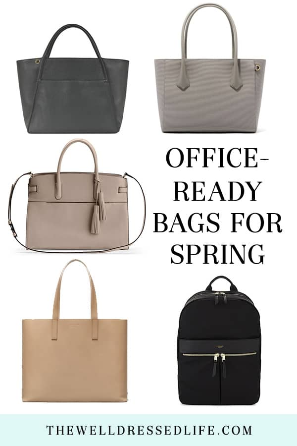 5 Chic and Functional Bags for Work
