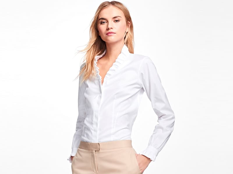 For the Ages: Classic White Button Down