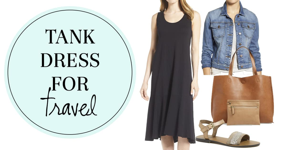 Tank Dress for Travel