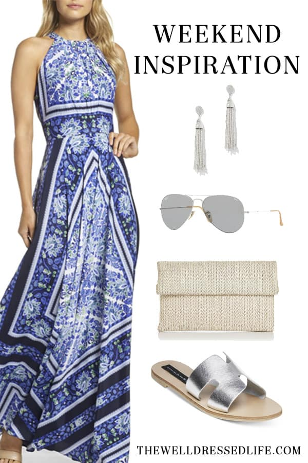 Weekend Inspiration - Easy Breezy Maxi Dress - The Well Dressed Life