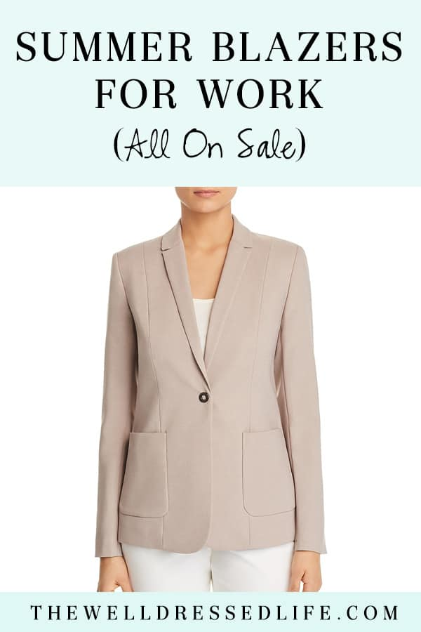 Summer Blazers for Work (All On Sale)