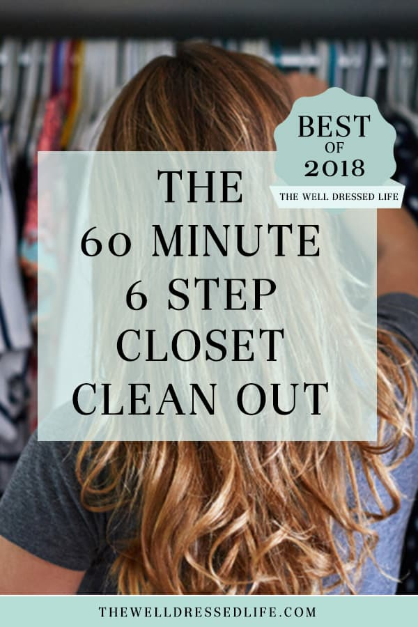 The 60 Minute 6 Step Closet Clean Out