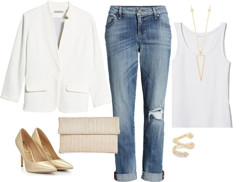 Weekend Inspiration: Just Jeans and a Blazer