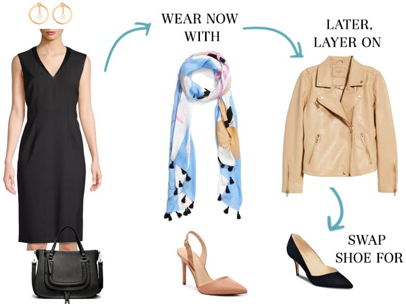 Wear To Work Now and Later: Classic Black Sheath