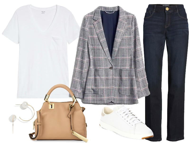 Weekend Inspiration: Jeans and a Blazer