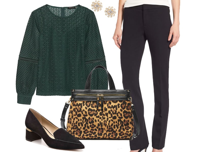 Wear to Work: Leopard and Lace