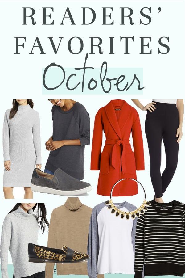 Readers Favorites - October 2018