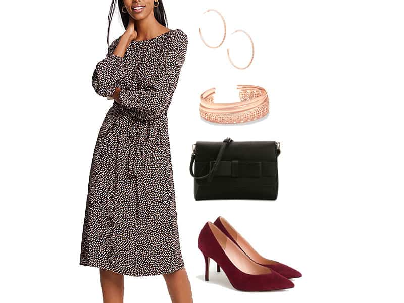 Wear to Work: Tie Waist Dress