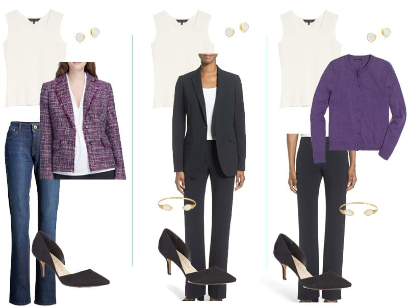 Wear to Work Capsule Wardrobe