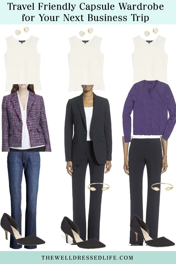 Wear to Work: Travel Friendly Capsule Wardrobe for Your Next Business Trip