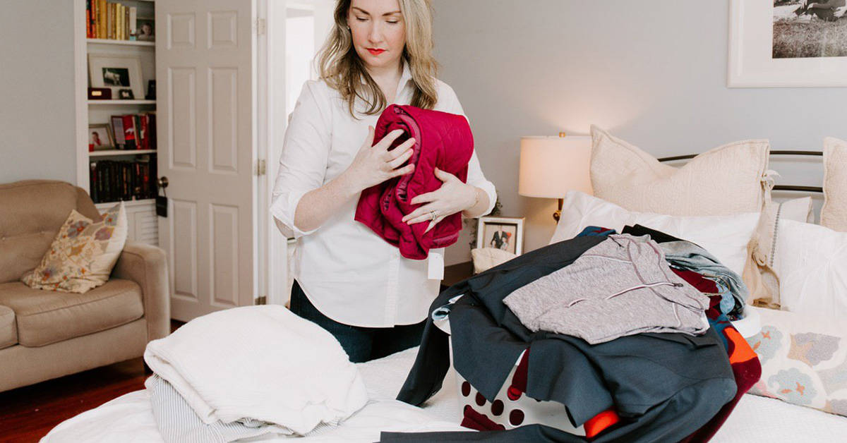 How to Finally Let Go of Clothes You Don't Need