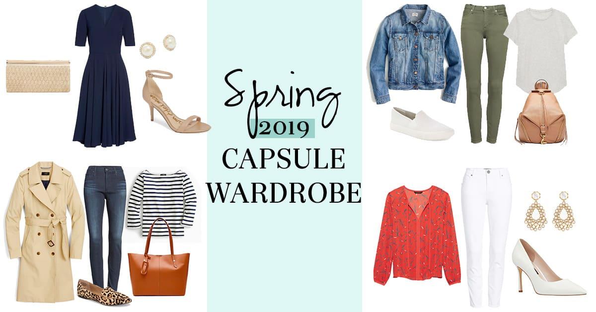 Spring 2019 Capsule Wardrobe