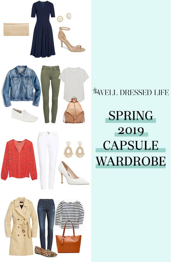 Our 2019 Spring Capsule Wardrobe for the Weekend