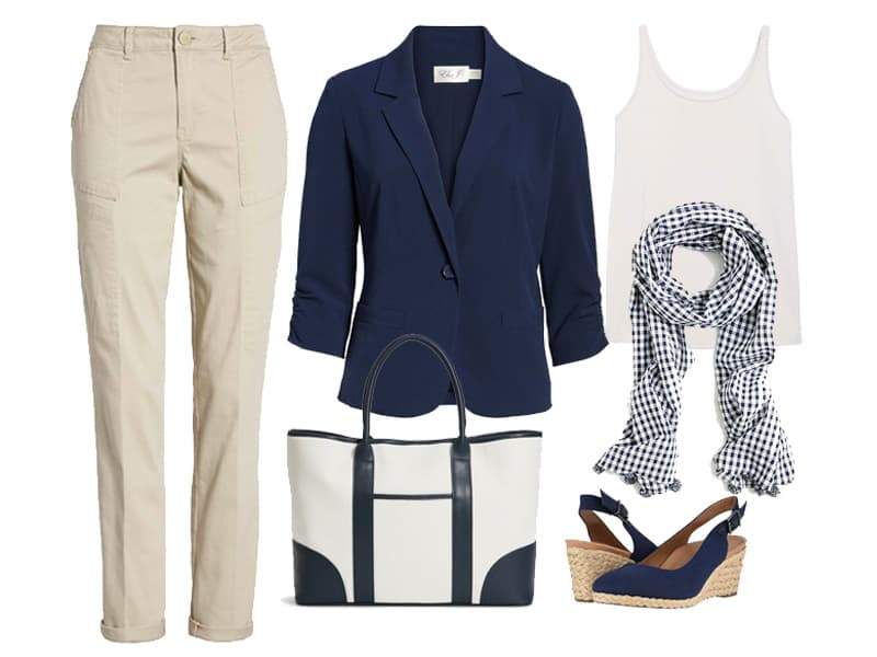 Weekend Outfit Inspiration: Khakis