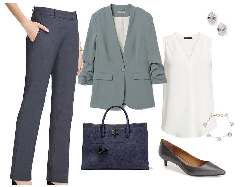 Wear to Work: Dusty Green