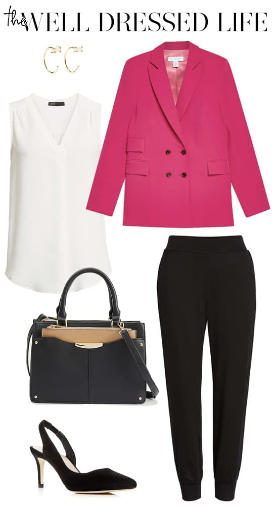 Wear to Work: Hot Pink Blazer