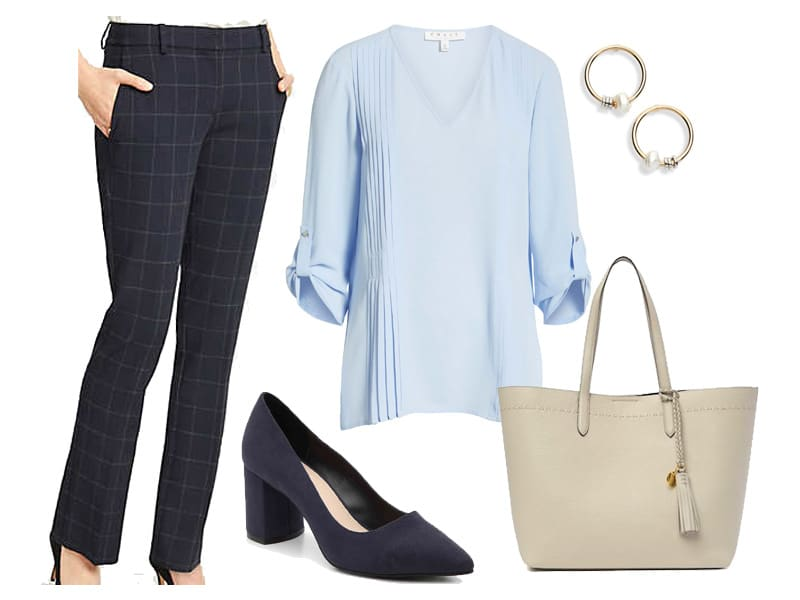Wear to Work: Navy Pants