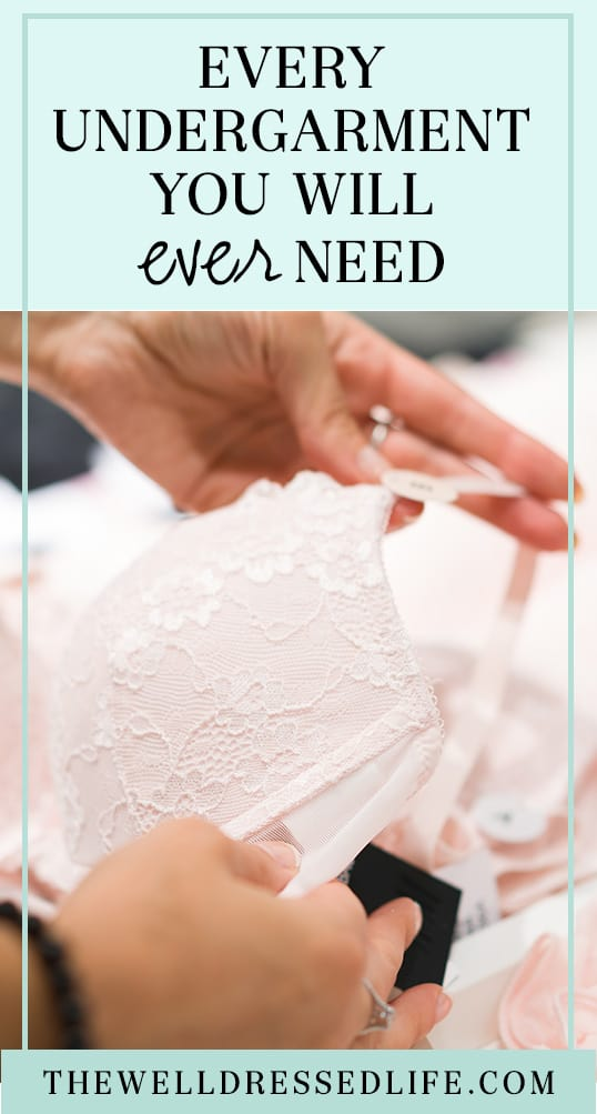 Every Undergarment You Will Ever Need