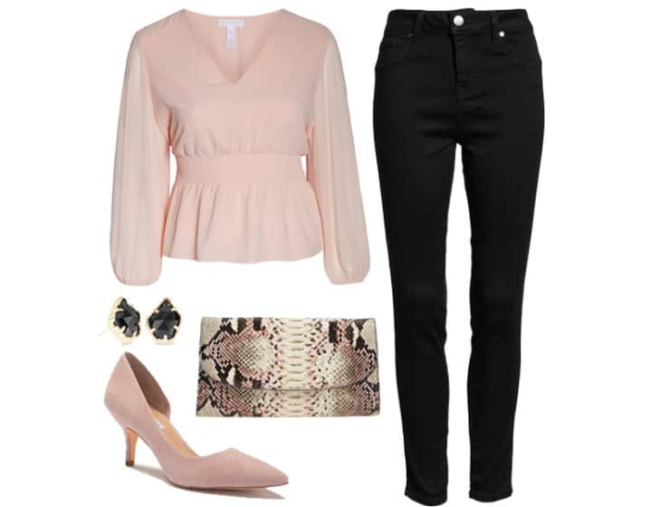 Weekend Outfit Inspiration: Date Night Blouse