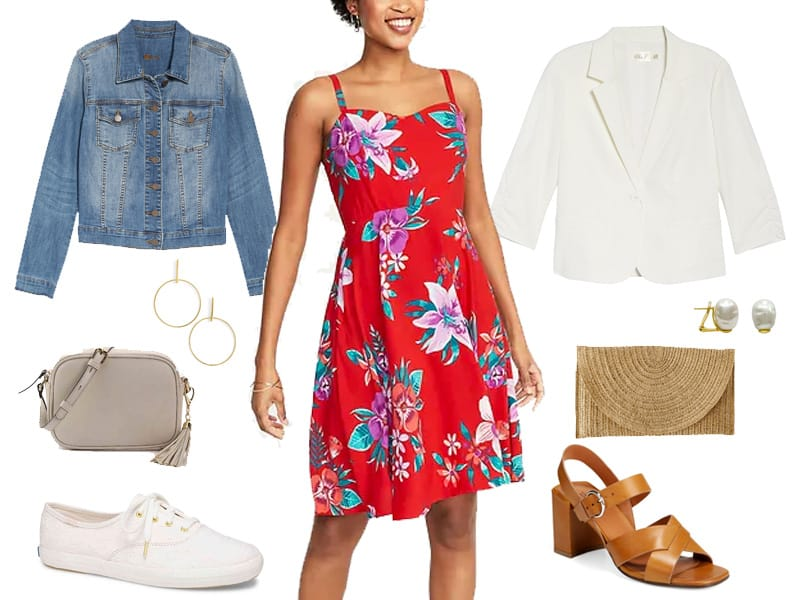 Weekend Outfit Inspiration: Floral Dress Two Ways
