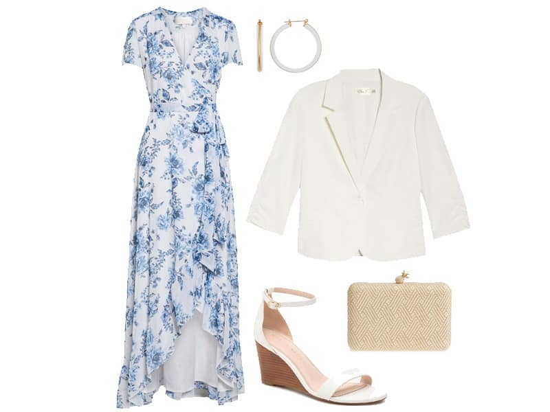 Weekend Outfit Inspiration: Floral Maxi Dress