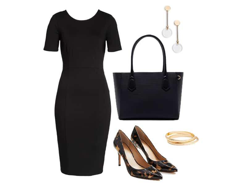 Wear to Work: Classic Black Sheath