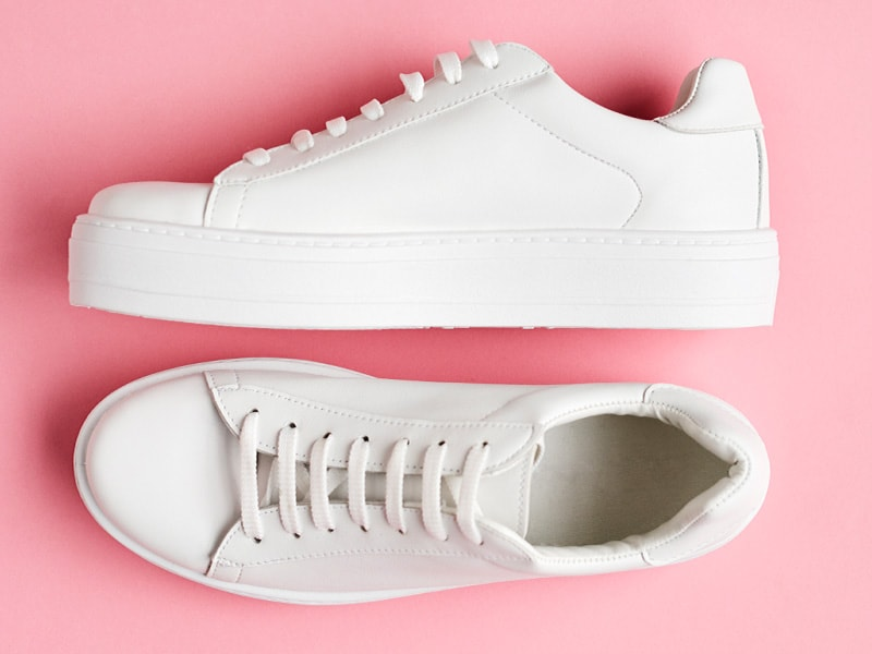 Classic White Sneakers That Go With Anything