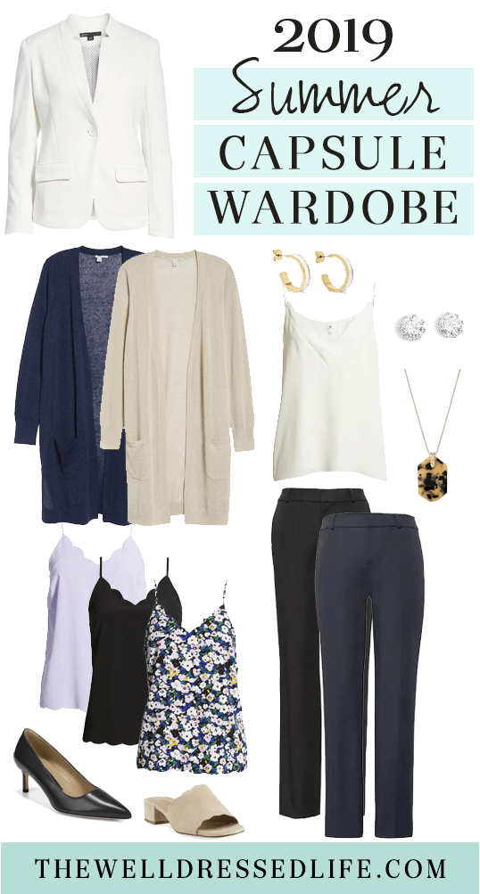 Our 2019 Summer Capsule Wardrobe for Work