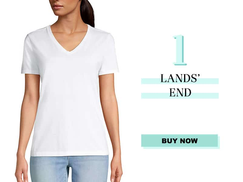 Lands's End White tshirt