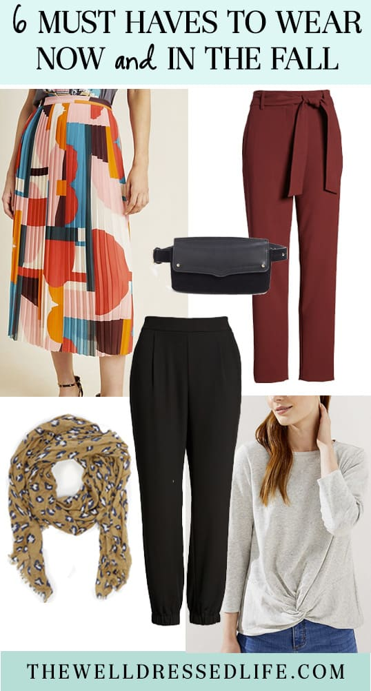 6 Must Haves to Wear Now and in the Fall