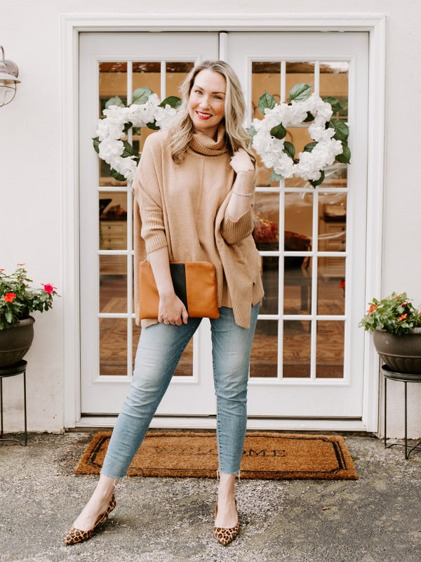 Weekend Inspiration: Chic and Cozy LOFT Sweater