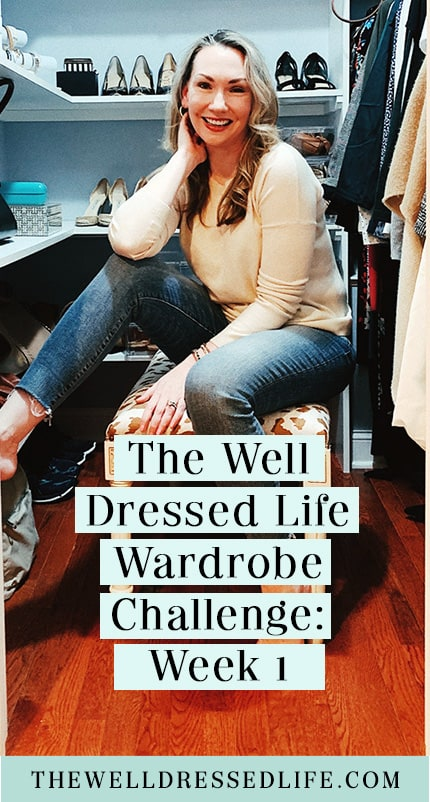 The Fall 2020 Wardrobe Challenge: Week 1