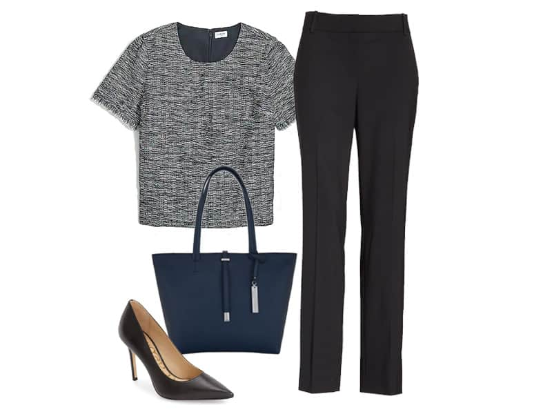 Workwear Wednesday: Tweed Top