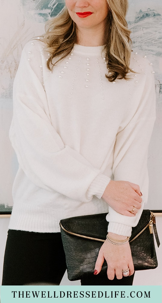 Under $20 Holiday Ready Sweater