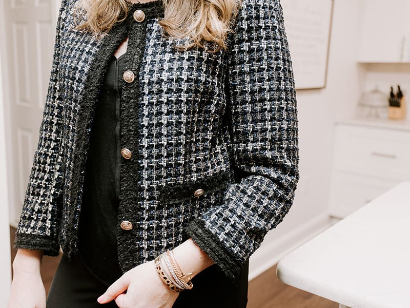 Must Have Boucle Jacket for Under $60