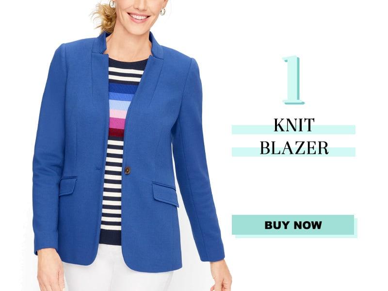 Talbots Knit Blazer