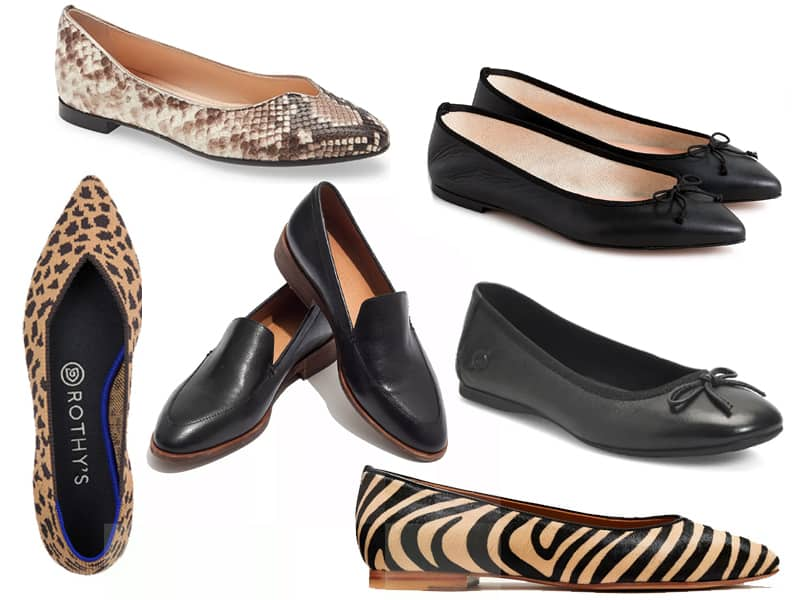 6 Comfortable Flats to Wear When You Can't Wear Heels