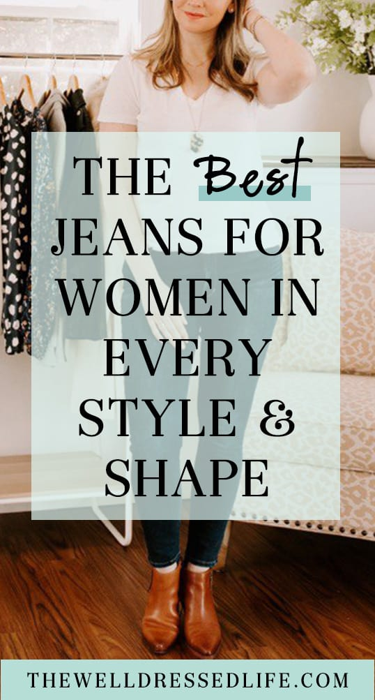The Best Jeans for Women in Every Style and Shape