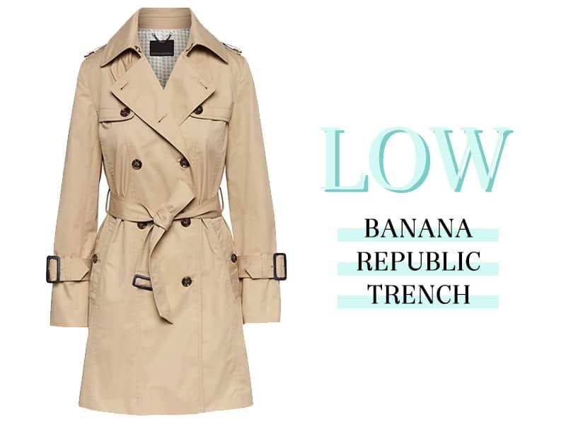 Banana Republic Trench