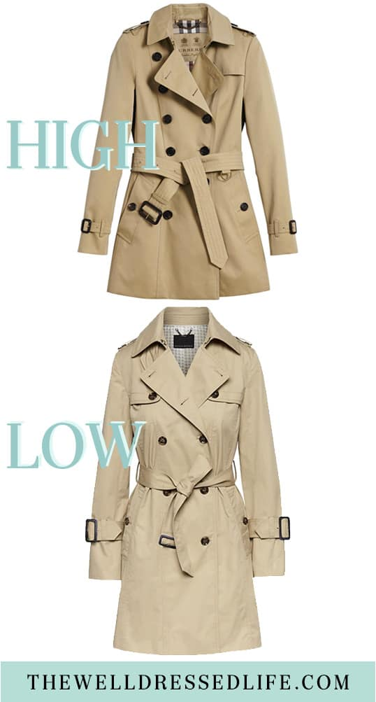 Classic Trench Coats for Spring