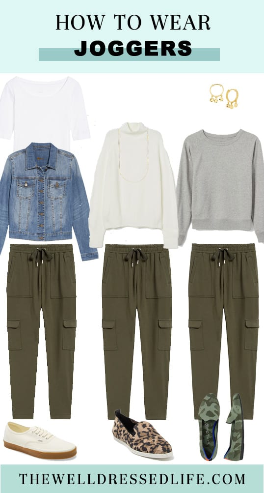 Three Ways to Wear Joggers