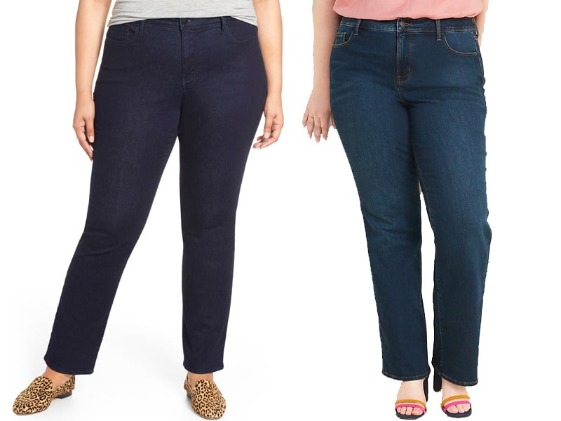 The Best Plus Straight Leg Jeans for Women