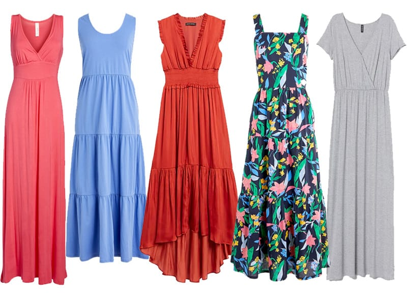 5 Five Maxi Dresses For Now and Later