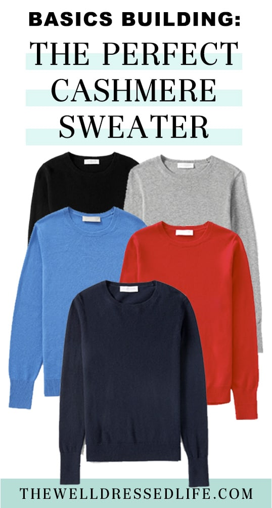 Basics Building: The Perfect Cashmere Sweater