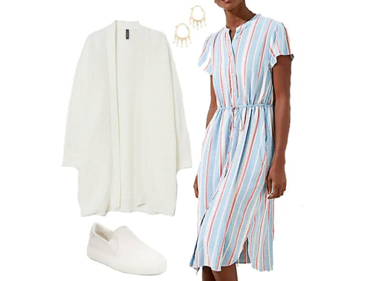 Easy Spring Dress to Wear Now and Later
