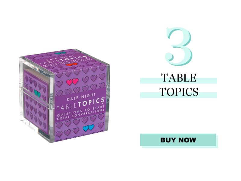 Date Night Table Topics
