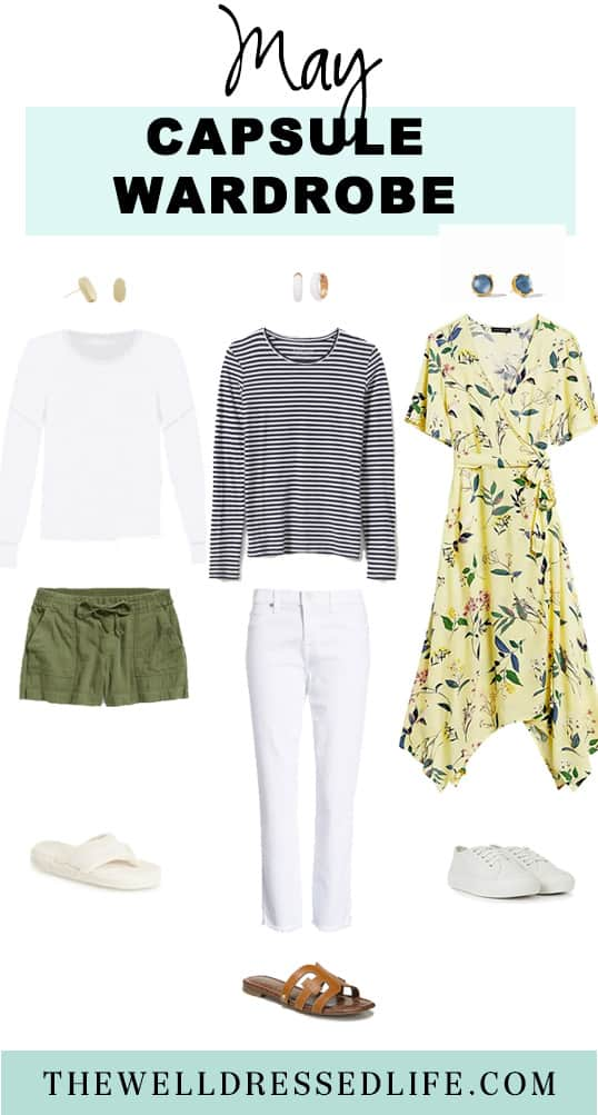 May 2020 Casual Outfit Capsule