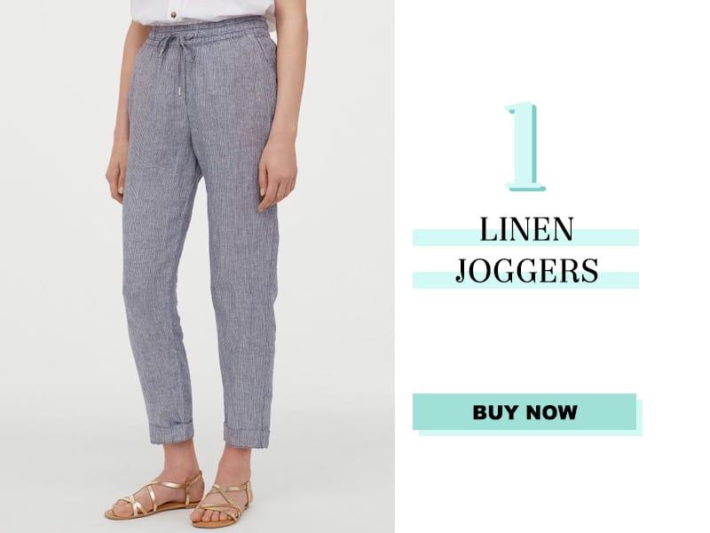 Linen Joggers