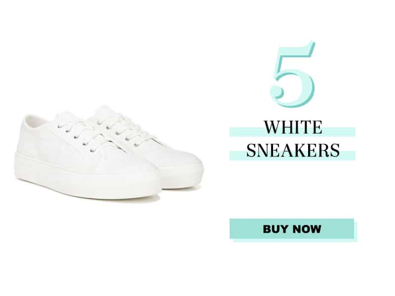 Sam Edelman White Sneaker